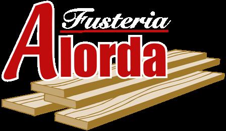 Logo-Fusteria Alorda - Blanc - Pequeño